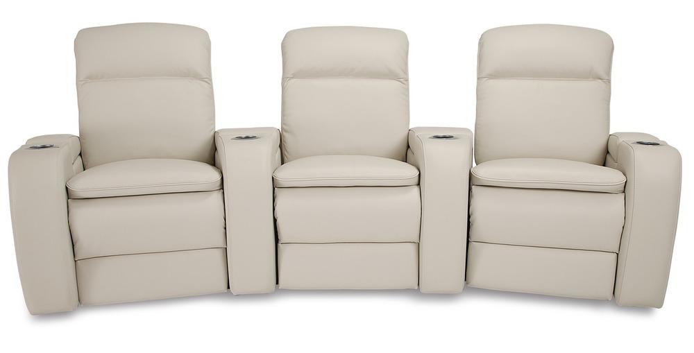 Palliser Furniture - Vertex Three Seat Curved Theater Seating