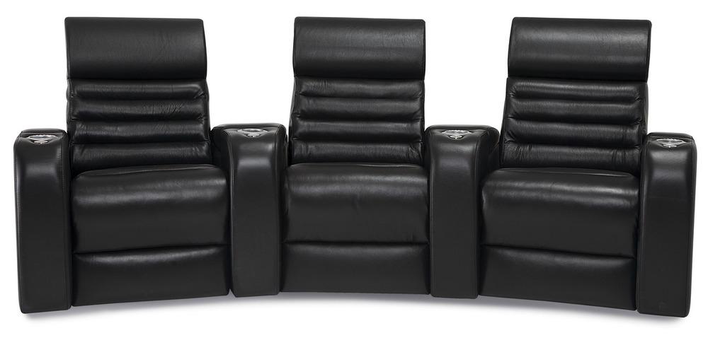 Palliser Furniture - Catalina Three Seat Curved Theater Seating