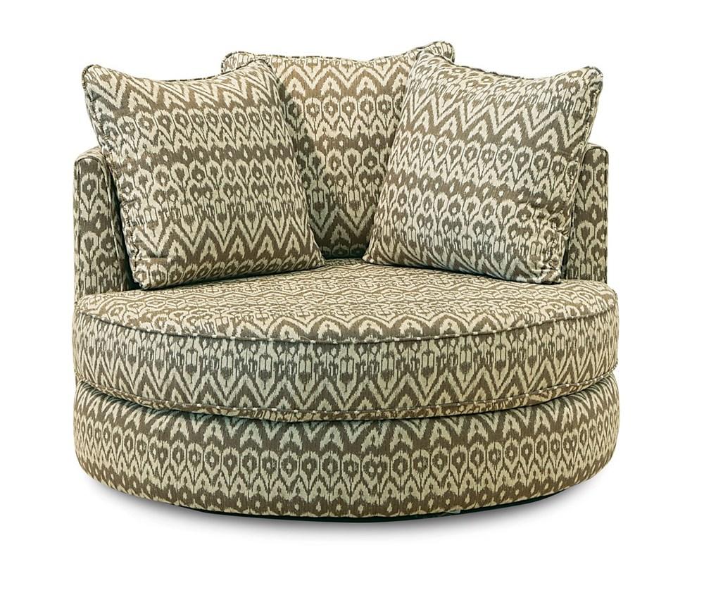 Palliser Furniture - Sutton Swivel Chair w/ Two Pillows
