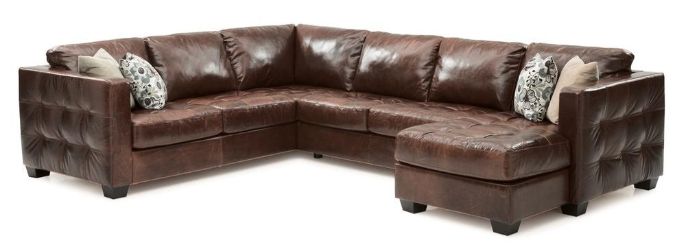 Palliser Furniture - Barrett Three Piece Sectional with Chaise