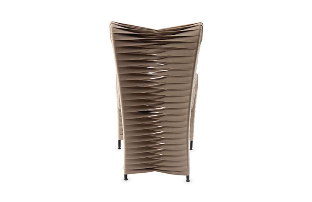 Phillips Collection - Seat Belt Dining Chair in Beige