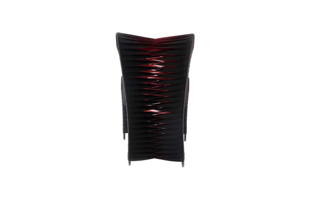 Phillips Collection - Seat Belt Dining Chair in Black and Red
