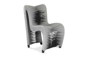 Thumbnail of Phillips Collection - Seat Belt Dining Chair Grey