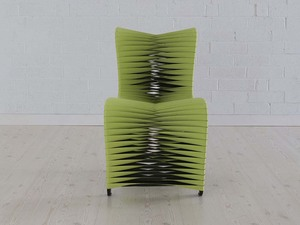 Thumbnail of Phillips Collection - Seat Belt Dining Chair in Green