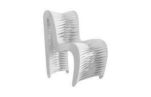 Thumbnail of Phillips Collection - Seat Belt Dining Chair in White