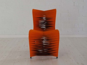 Thumbnail of Phillips Collection - Seat Belt Dining Chair Orange