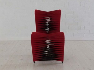 Thumbnail of Phillips Collection - Seat Belt Dining Chair in Red