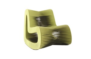 Thumbnail of Phillips Collection - Seat Belt Rocking Chair Green