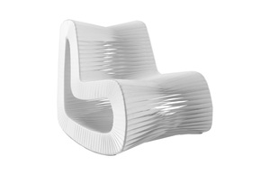Thumbnail of Phillips Collection - Seat Belt Rocking Chair White