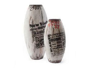 Thumbnail of Phillips Collection - Weathered City Vases Set of 2