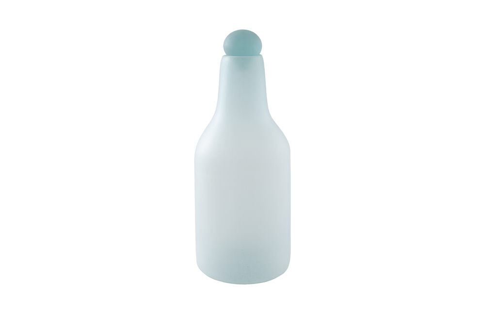 Phillips Collection - Frosted Glass Bottle Large