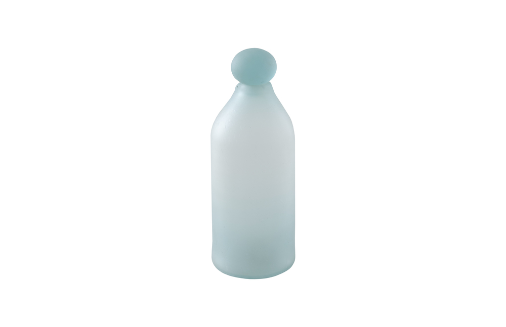 Phillips Collection - Frosted Glass Bottle Small