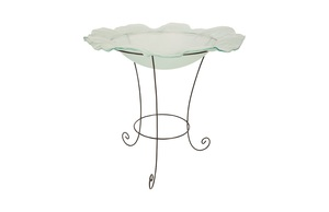 Thumbnail of Phillips Collection - Frosted Glass Bowl on Stand Large