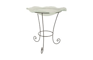 Thumbnail of Phillips Collection - Frosted Glass Bowl on Stand Medium