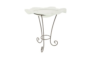 Thumbnail of Phillips Collection - Frosted Glass Bowl on Stand SM