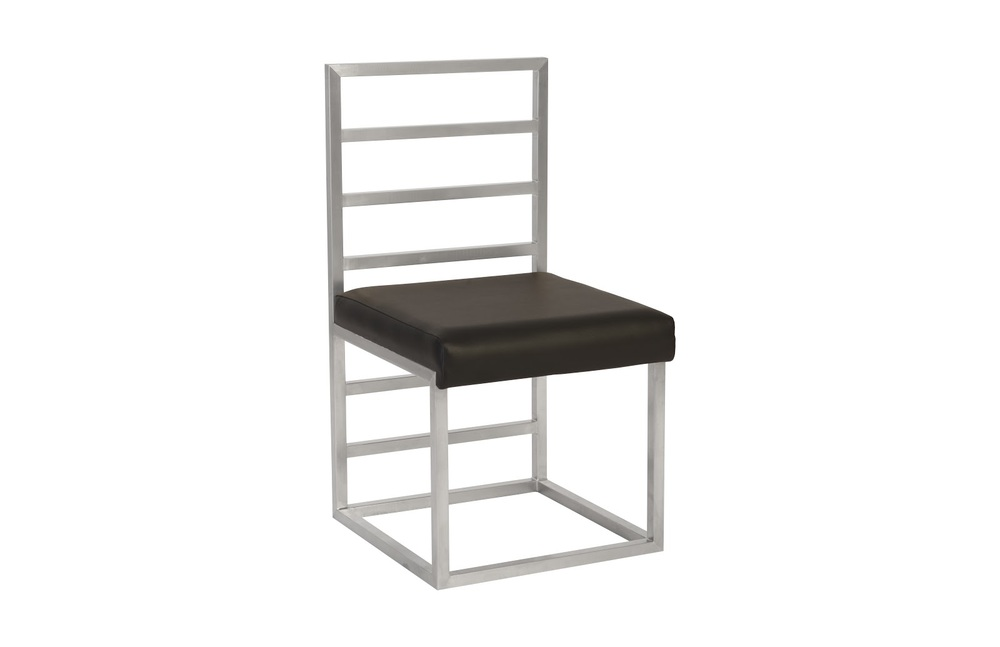 Phillips Collection - Ladder Dining Chair Grey/Silver