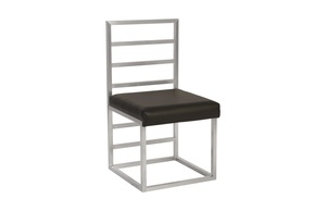 Thumbnail of Phillips Collection - Ladder Dining Chair Grey/Silver