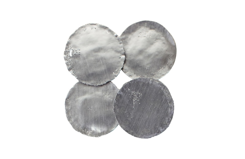 Phillips Collection - Galvanized Circle Wall Tiles