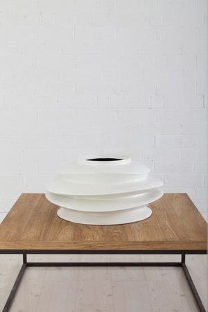 Thumbnail of Phillips Collection - Short Spiral Bowl in White