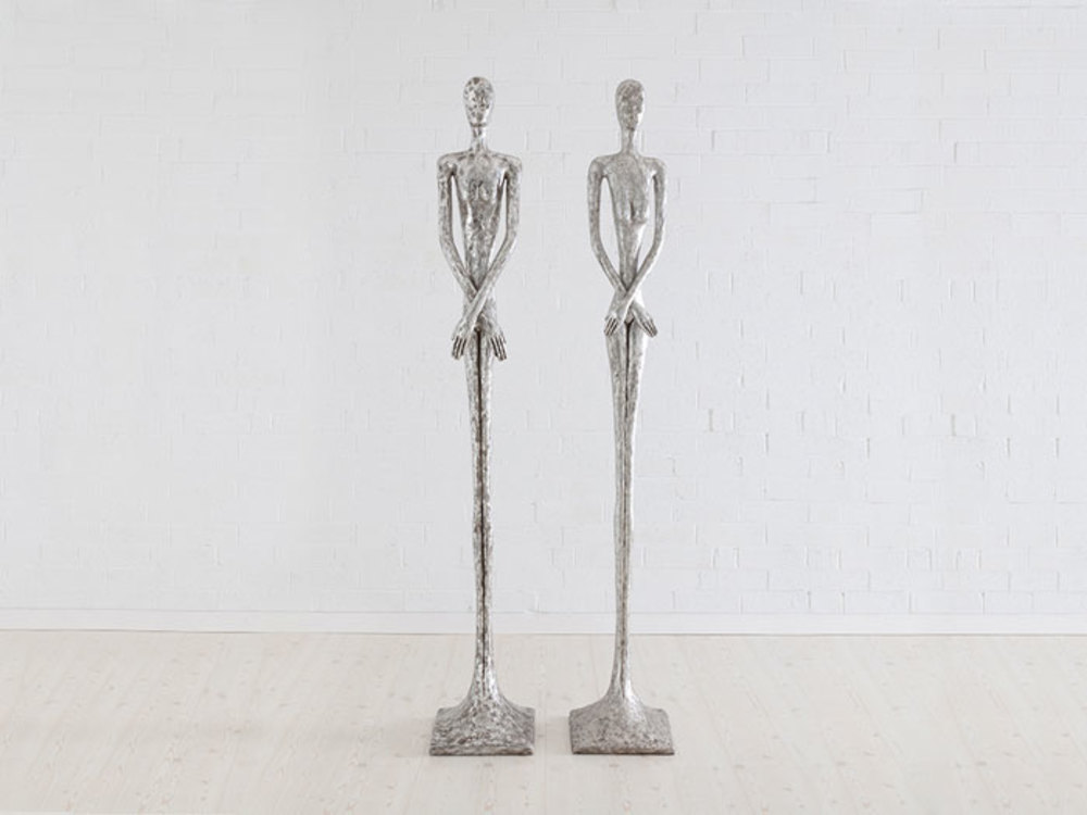 Phillips Collection - Silver Skinny Male Sculpture