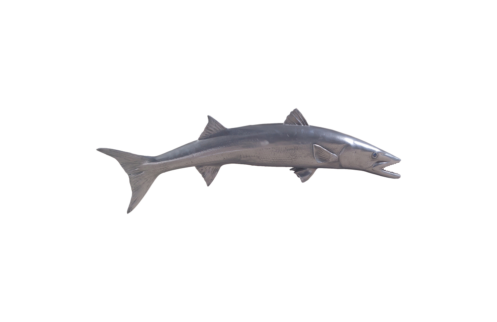 Phillips Collection - Barracuda Fish in Polished Aluminum