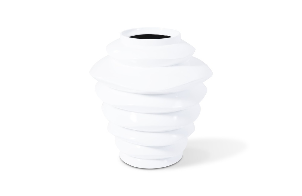 Phillips Collection - Spiral Bowl Tall White