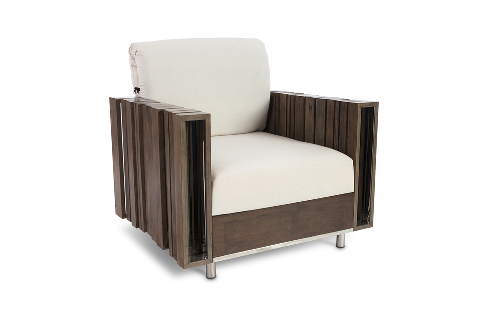 Phillips Collection - Strip Lounge Chair