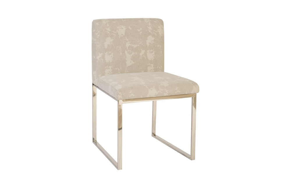 Phillips Collection - Frozen Dining Chair Stainless Steel Grey