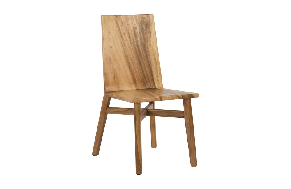 Phillips Collection - Slant Dining Chair Chamcha Wood Natural