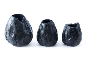 Thumbnail of Phillips Collection - Burnt Hive Vases Set of 3