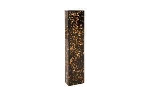 Thumbnail of Phillips Collection - Captured Gold Flake Vase Black Large