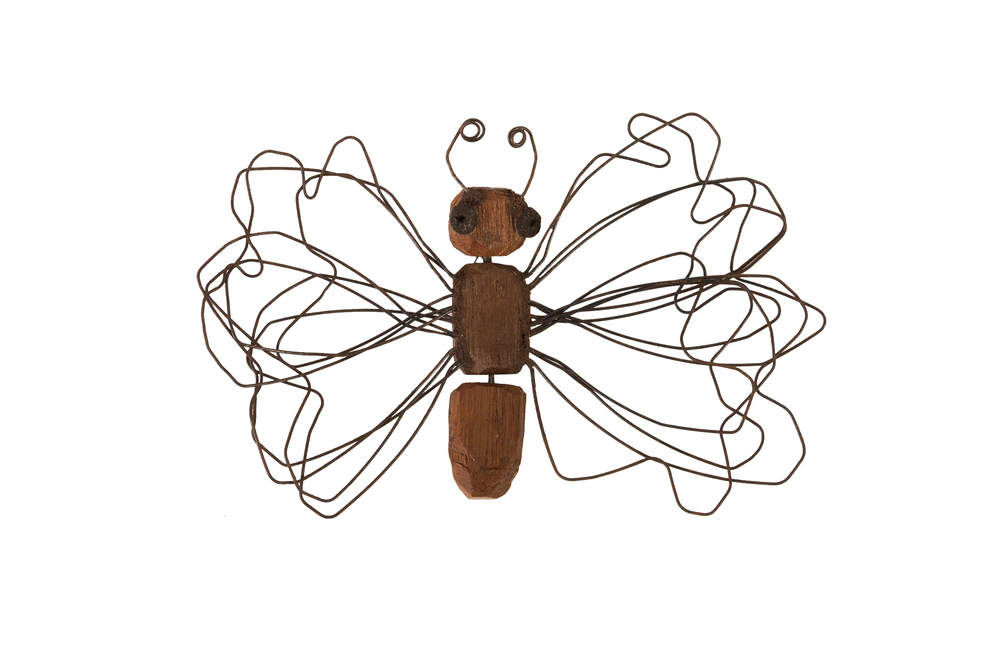 Phillips Collection - Wire Wing Butterfly Small