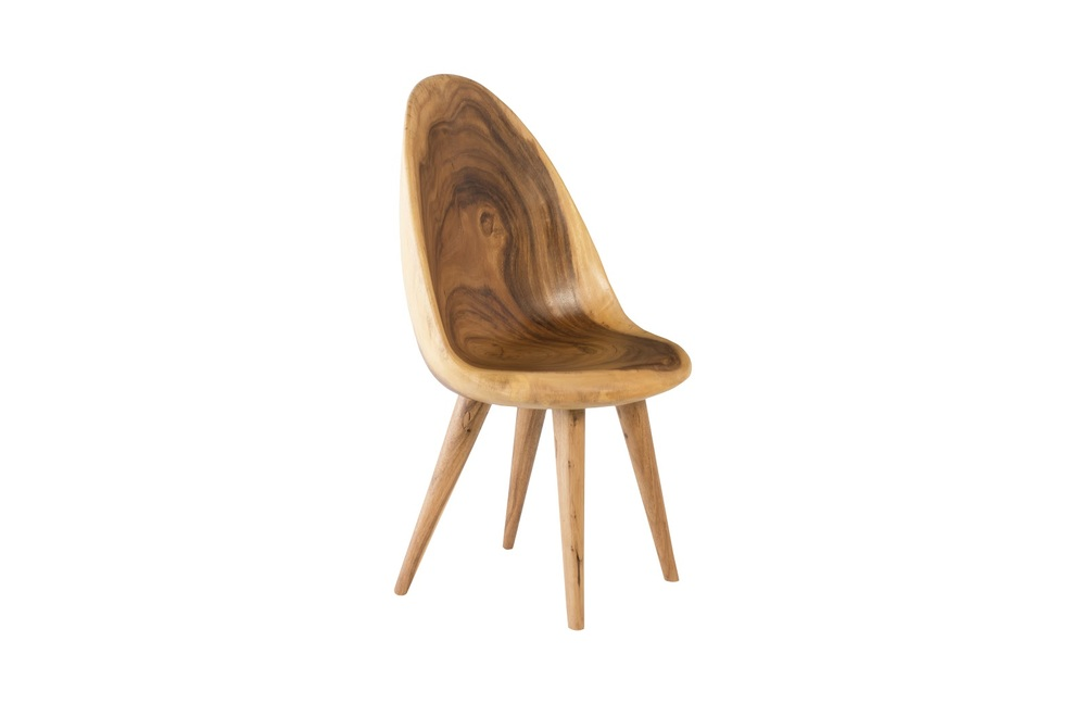 Phillips Collection - Chamcha Wood Smoothed Dining Chair Natural