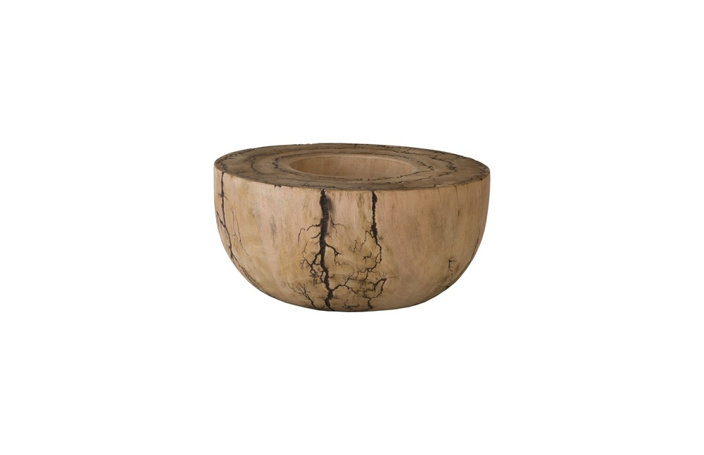 Phillips Collection - Chamcha Wood Lightning Bowl