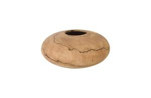 Thumbnail of Phillips Collection - Low Lightning Vase Mango Wood