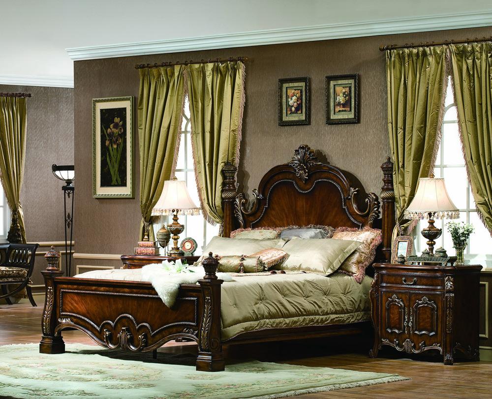 Orleans International - Lladro California King Low Post Panel Bed