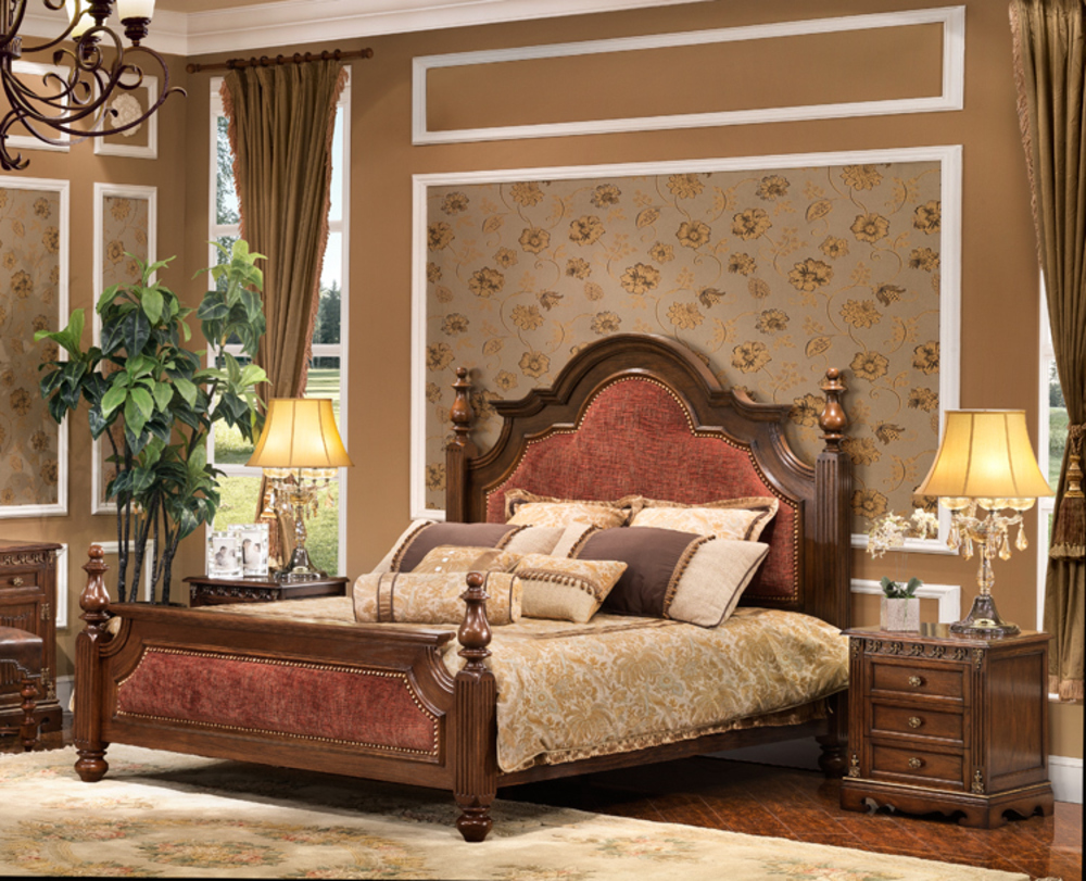 Orleans International - Augusta Queen Bed