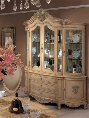 Thumbnail of Orleans International - Chardonnay Demilune China Cabinet