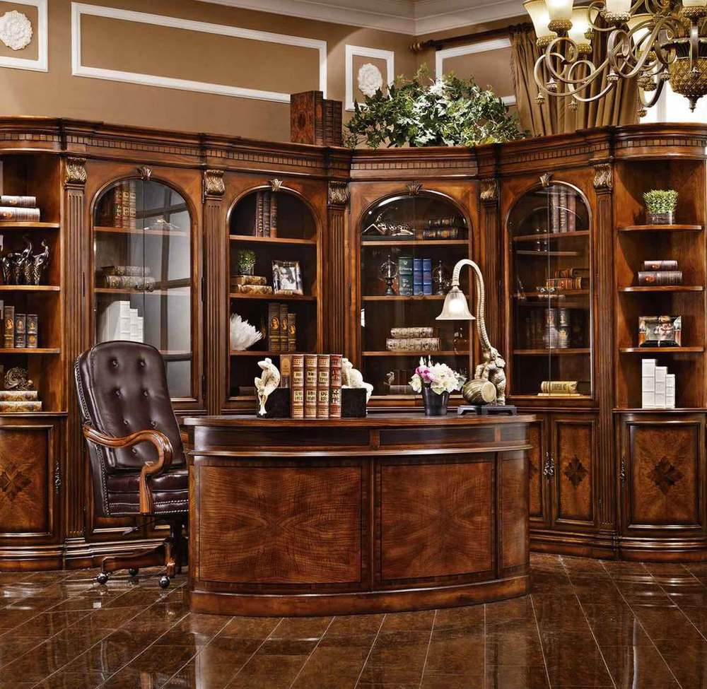 Home Office Furniture Wall Unit Bookcase by Orleans ...