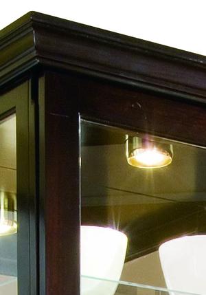Thumbnail of Pulaski - Two Way Sliding Door Curio