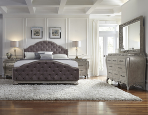 Thumbnail of Pulaski - Rhianna King Upholstered Bed