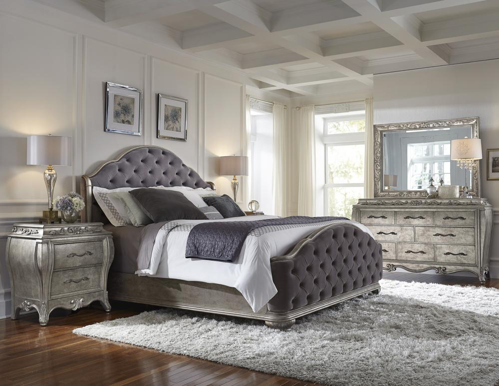 Pulaski - Rhianna King Upholstered Bed