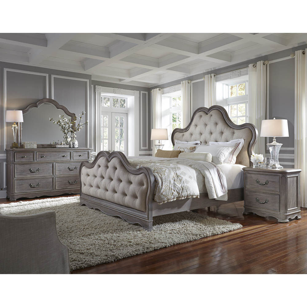 Pulaski - Simply Charming King/California King Upholstered Bed