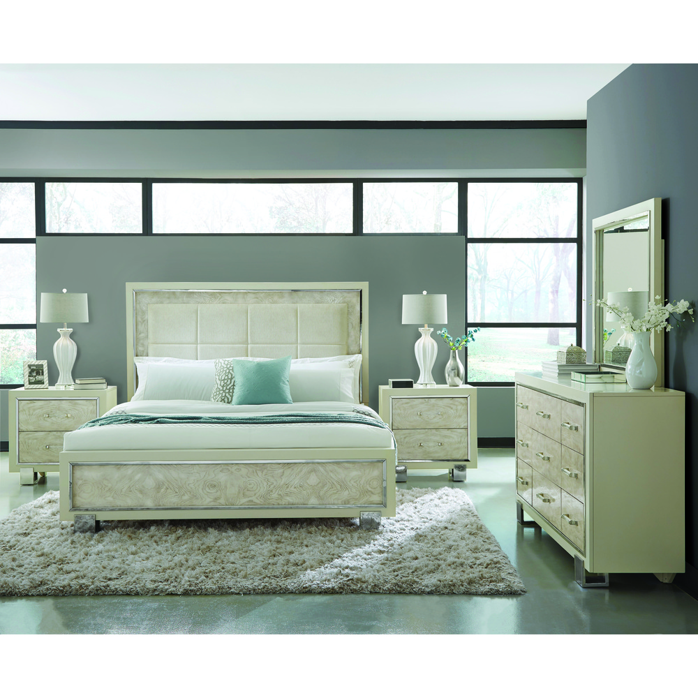 Pulaski - Cydney King Upholstered Panel Bed