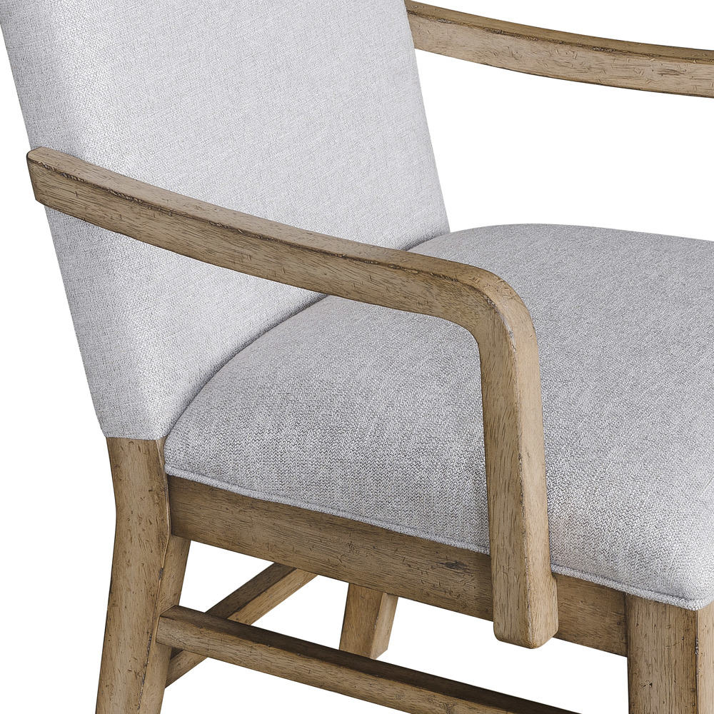 Pulaski - The Art of Dining Upholstered Arm Chair, 2 pc