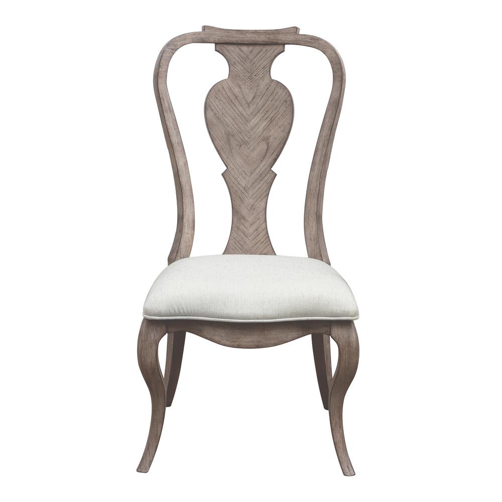 Pulaski - Ella Splat Back Side Chair, 2 piece