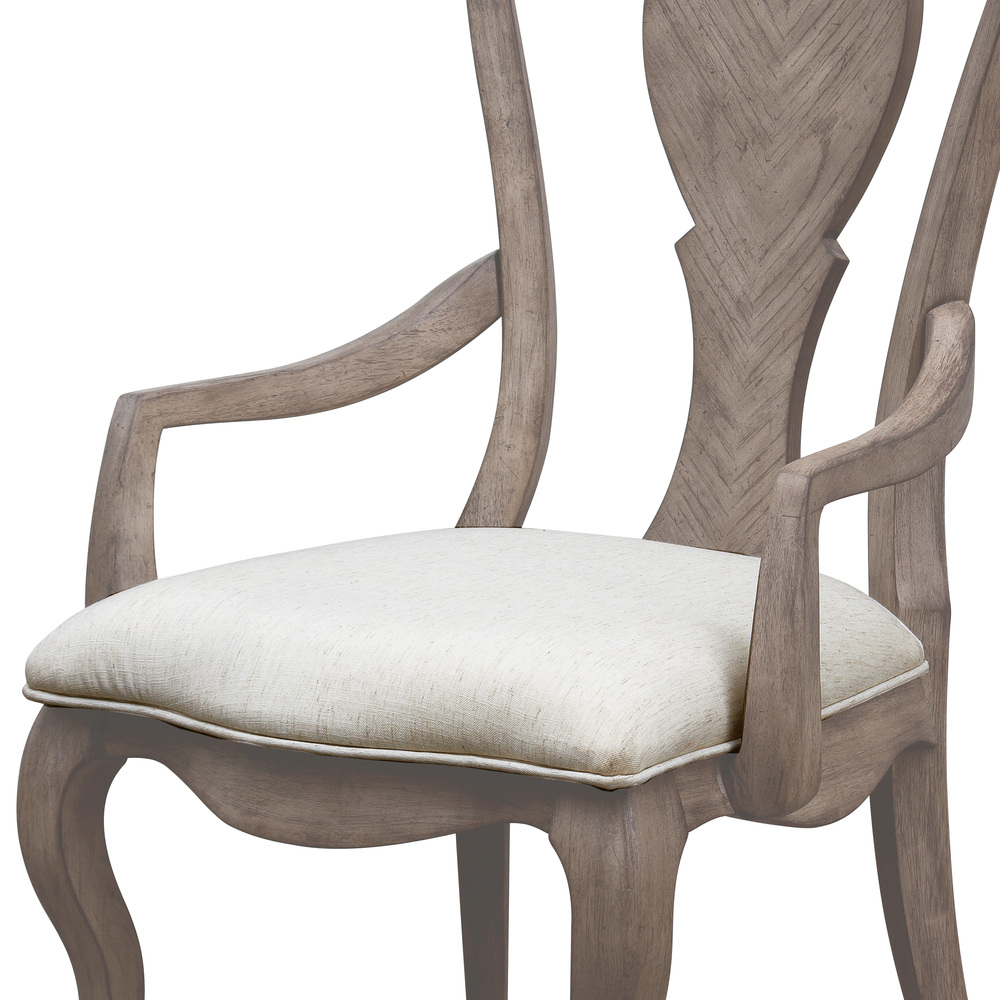 Pulaski - Ella Splat Back Arm Chair, 2 piece
