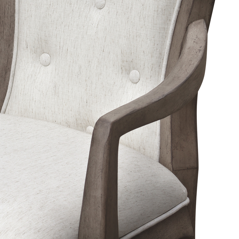 Pulaski - Ella Upholstered Back Arm Chair, 2 pc