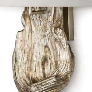 Thumbnail of Regina Andrew - Silver Leaf Drift Wood Sconce