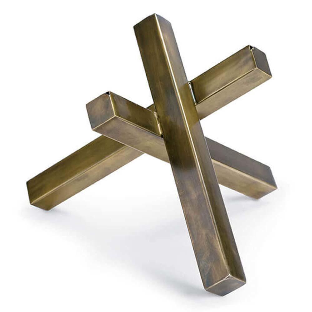 Regina Andrew - Brass Intersecting Sculpture